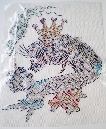 HF85 Rhinestud Hot Fix Hotfix Heat Transfer King Tiger ED Hardy