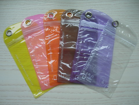"JW24 3.6""x6"" Water Resistant/Waterproof Pouch Case Bag 6pcs"