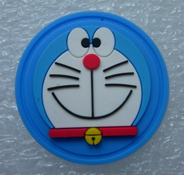 RB03 Doraemon 3D PVC Rubber Patch Bagde