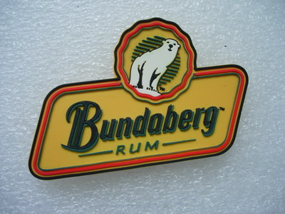 RB05 BUNDABERG RUM 3D PVC Rubber Patch Barware Logo