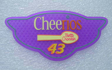 "RB06 ""Cheerios"" Betty Crocker Logo 3D PVC Rubber Patch"