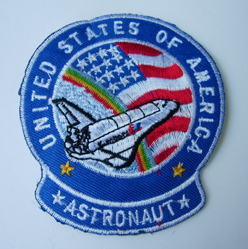 AS04 NASA US Astronaut Space Shuttle Embroidery Patch Iron On