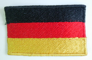 FL04 Germany German Flag Patch Iron On