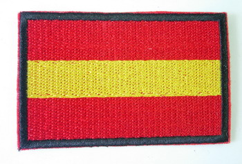 FL05 Spain Spanish Nation Flag Patch Iron On