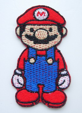 PC139 Super Mario Bros Embroidered Patch Applique Iron On