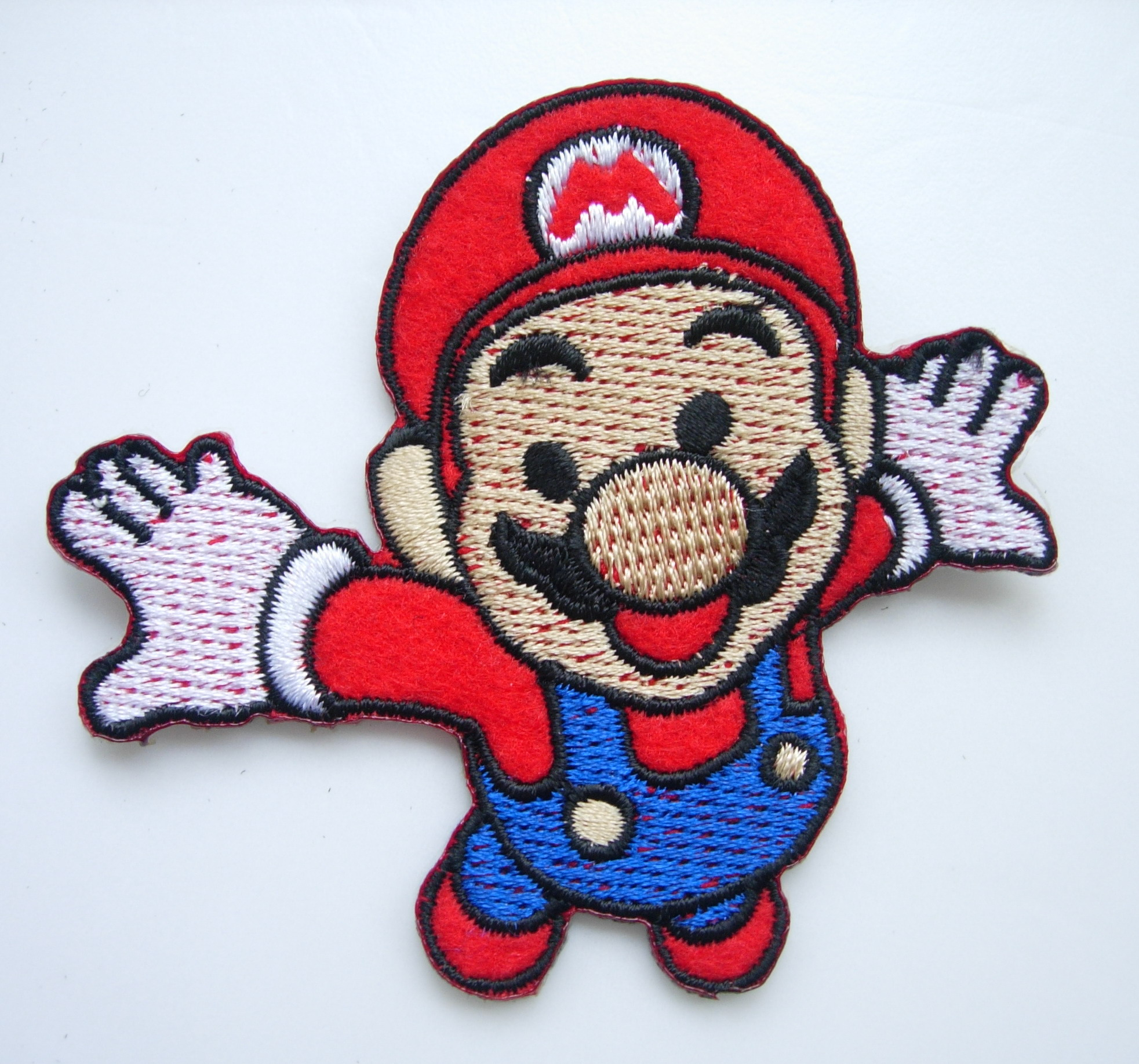 PC143 Trendy Super Mario Bros Embroidered Patch Applique Iron On