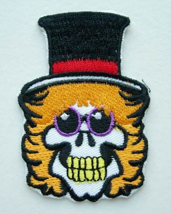 PC28 Halloween Skull Devil Embroidery Patch Applique Iron On
