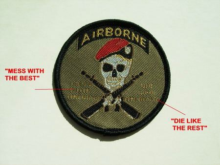 PC30 ARMY AIRBONE Embroidery Patch Applique Iron On