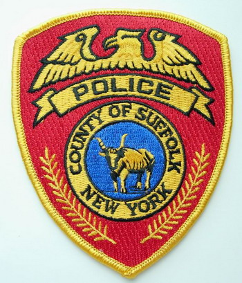 PC37 NEW YORK Suffolk Country Suffolk Police Patch Badge