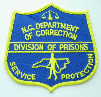PC38 NORTH CAROLINA Dept of Correction Division of Prisons Patch