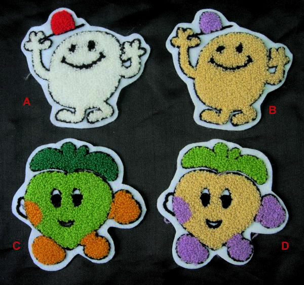 EMBROIDERED FUN PATCHES