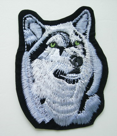 PM13 Wolf Embroidery Patch Applique Iron On