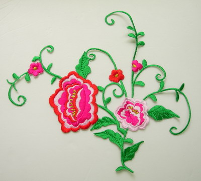 PT170 Amazing Designs Floral Flowers Embroidery Patch Applique