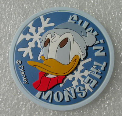 RB20 Disney Donal Duck Cartoon PVC Rubber Patch Badge