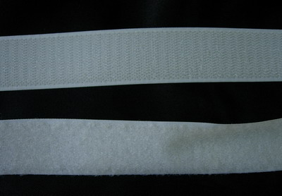 VL02 30mm Velcro Fastening Tape Hook Loop White 25meter