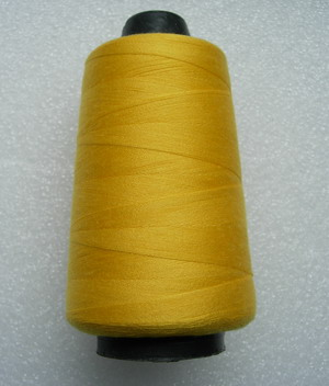TS11 Yellow Polyester Thread Threads 3000yds