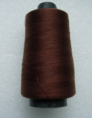 TS12 Brown Polyester Thread Threads 3000yds