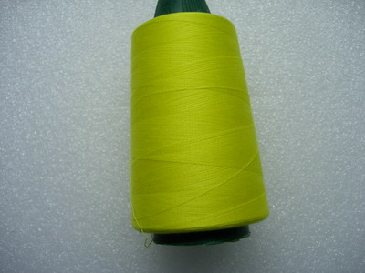 TS16 Neon Yellow Polyester Thread Threads 3000yds