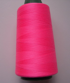 TS17 Pink Polyester Thread Threads 3000yds