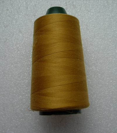 TS27 Yellow-Gold Polyester Thread Threads 3000yds - Click Image to Close